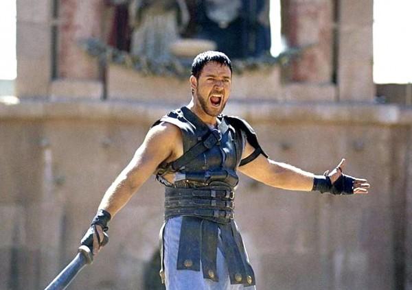 """un fotogramma del film """"il gladiatore"""""""